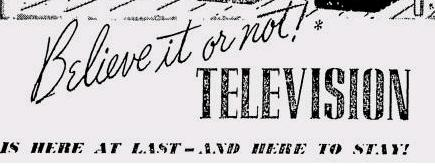 1939 Television: Here at Last and Here to Stay
