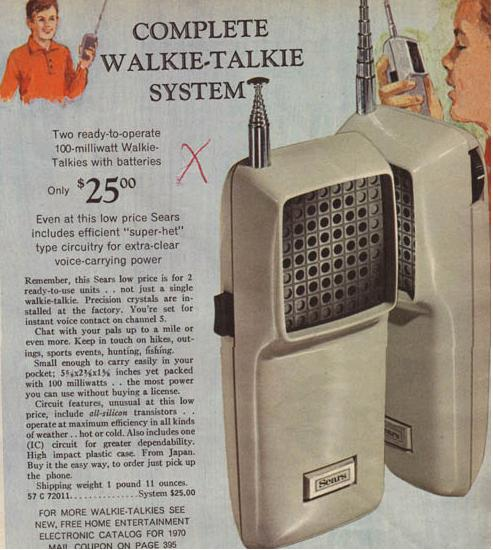 27mhz Walkie Talkie