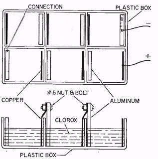 Science Fair Ideas: Homemade Batteries from 1965