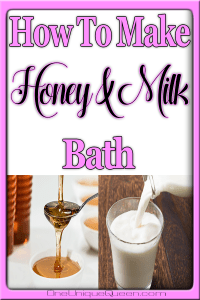 Homemade Honey & Milk Bath Recipe