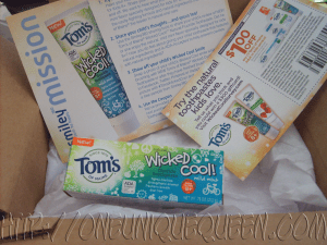 [Smiley360 Mission Review] New Toms of Maine® Wicked Cool! Toothpaste for Kids 8+