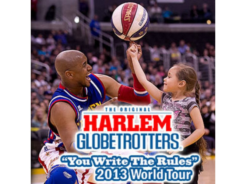 "Harlem Globetrotters ""You Write the Rules"" 2013 Tour"
