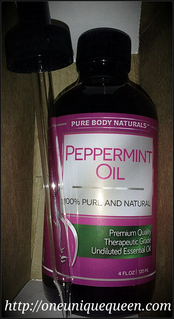 Pure Body Naturals Peppermint Essential Oil Review