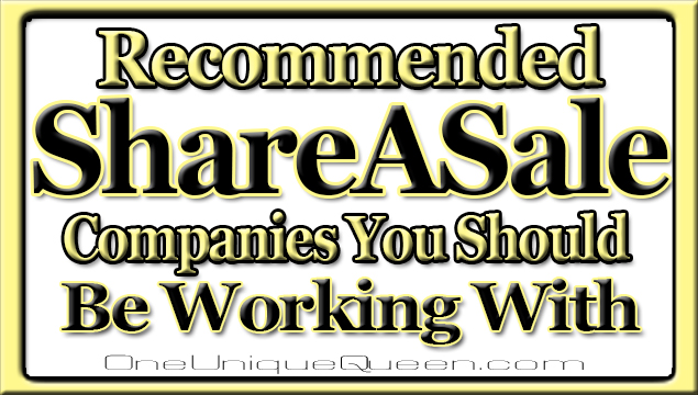 Recommended ShareASale Companies You Should Be Working With