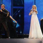 Igor Cukrov and Andrea Šušnjara emphasized beauty on stage. Photo: Alain Douit (EBU)