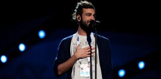 Marco Mengoni reheased for the second time in the Malmö Arena.