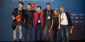 Highway at a Meet & Greet during the Eurovision Song Contest 2016 in Stockholm.