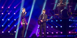 Joe and Jake in Stockholm for Eurovision