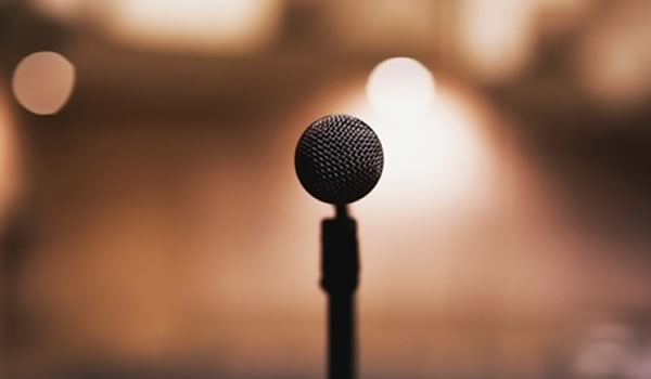 Eurovision microphone