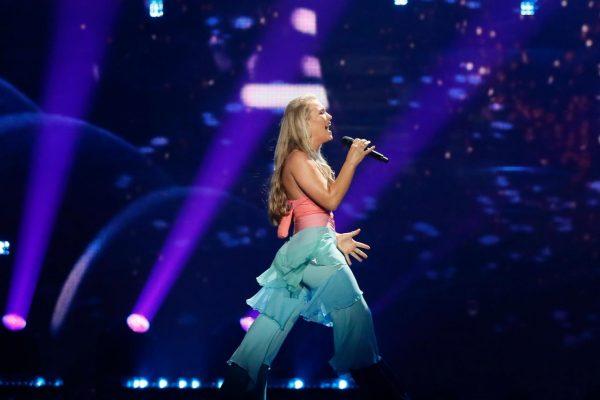 Anja at Eurovision 2017
