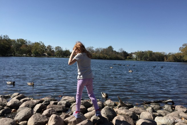 10.13.15. Notre Dame. Quinn lake