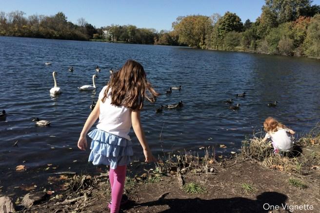 10.13.15. Notre Dame. girls lake