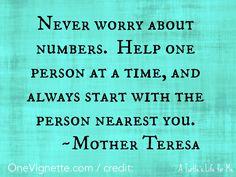 11.17.15. Alice. Mother Teresa