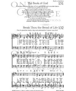 Break Thou The Bread Of Life Sheet Music