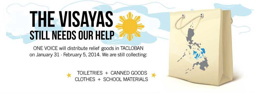 The Visayas still needs our help