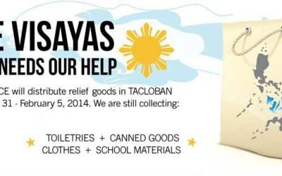 The Visayas still needs our help