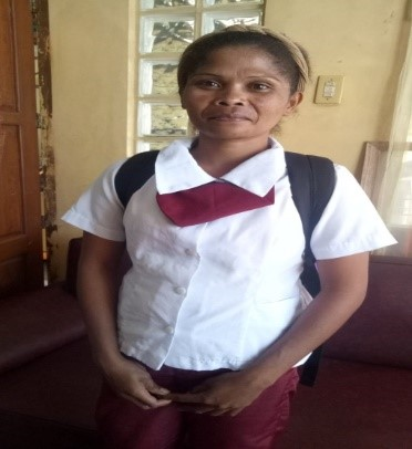 Project GIVE: Sponsor Lorna Balintay's Education