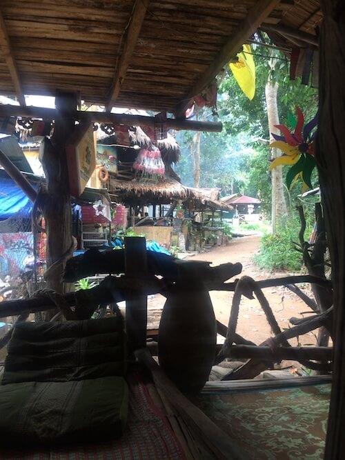 Tonsai, Thailand, Bar, sustainable, wood, Beach town