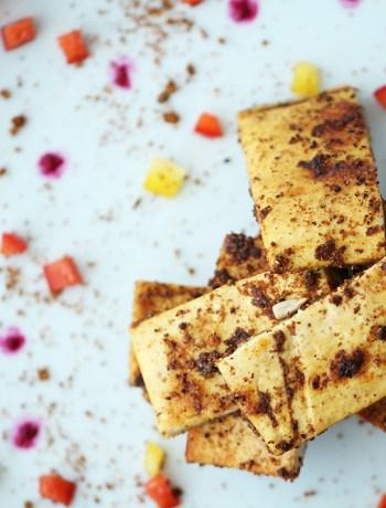 Spiced Tofu Bites
