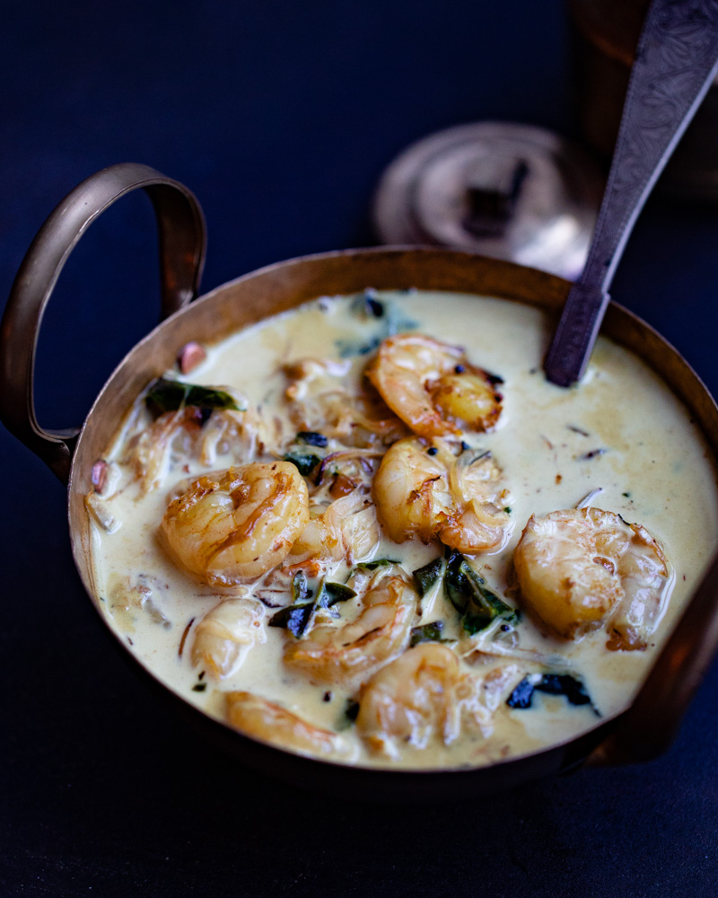 Prawns in Coconut Cream Sauce recipe by OneWholesomeMeal