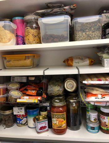 Reorganize a kitchen