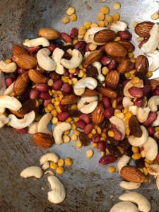 Roasted dry fruits
