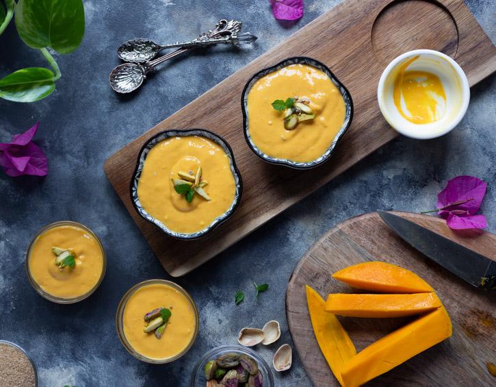 Mango and Yogurt Dessert Aamrakhand
