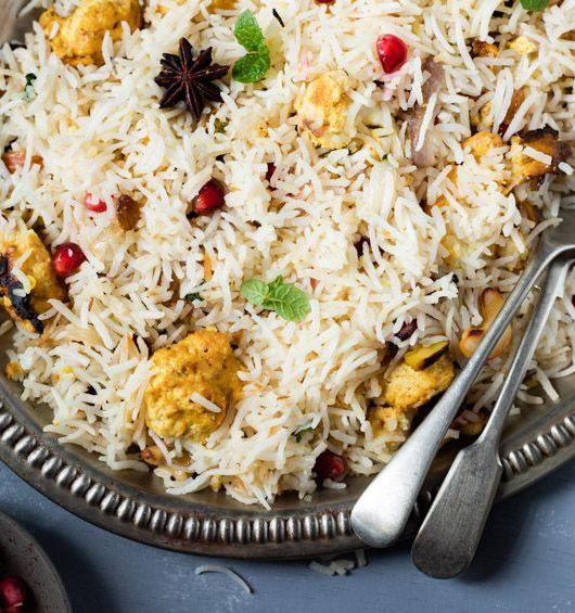 Tandoori Cauliflower Pulao | Tandoori Gobi Rice Recipe