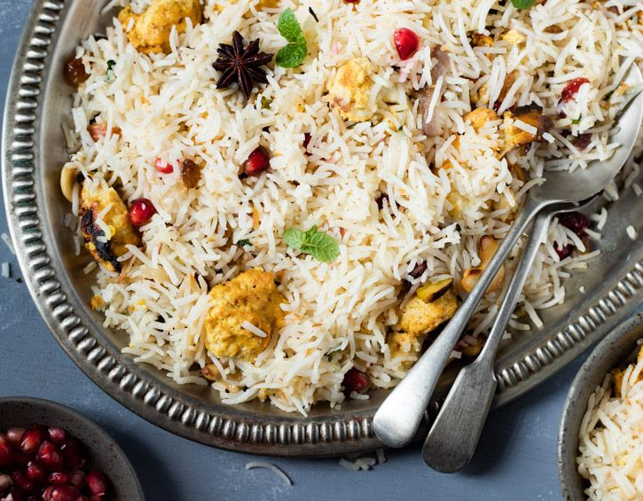 Tandoori Cauliflower Pulao | Tandoori Gobi Rice Recipe