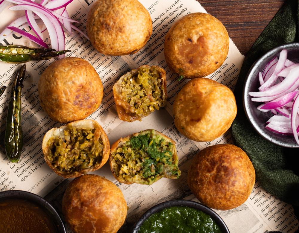 Matar Kachoris, Green Peas Kachori recipe