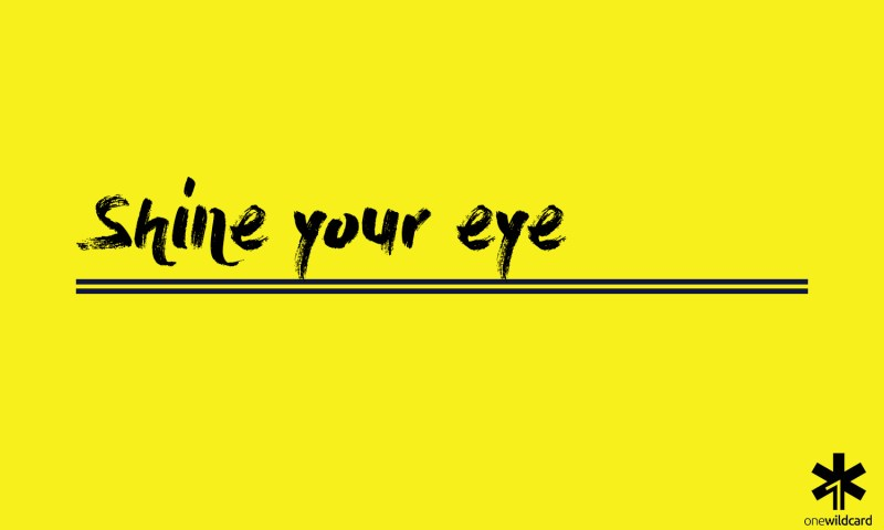 shine your eye