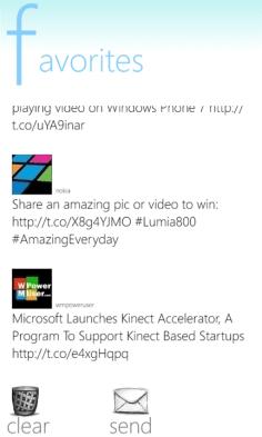 Tinata Windows Phone Captura 3