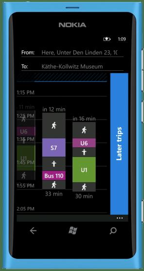 Nokia Transport App 4
