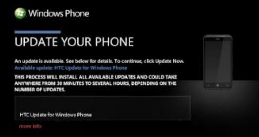 Actualización HTC TITAN Y RADAR