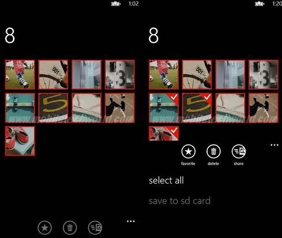Selección de múltiples imágenes en Windows Phone 8