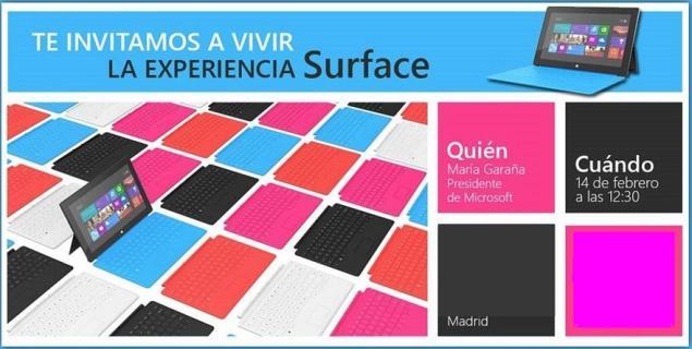 Surface España