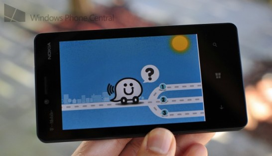 Waze Windows Phone