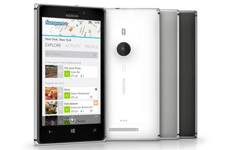 Foursquare para Nokia Lumia
