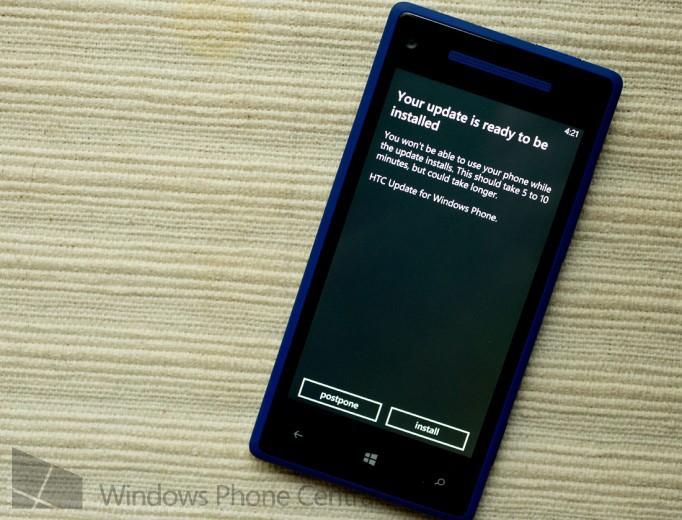 HTC 8X Update