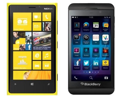 Nokia - BlackBerry