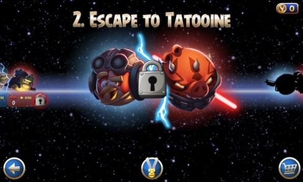 Angry birds Star Wars II para Windows phone - Imagen 4
