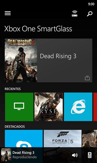 Xbox One SmartGlass 1