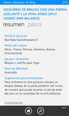 Salud y Bienestar de Bing 5