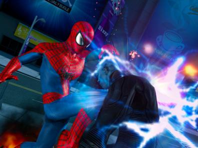 The Amazing Spider-Man 2 vs Electro