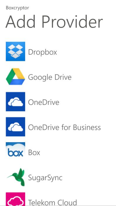 Boxcryptor protege tus datos en la nube disponible para Windows Phone 8 y Windows 8