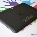 HP Omni 10 Análisis - Trasera