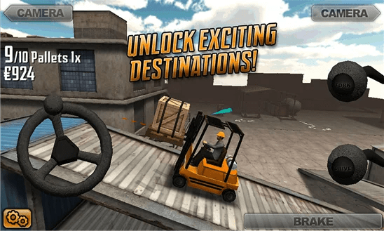 Extreme Forklifting vista lateral