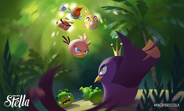 Angry Birds Stella - El Juego