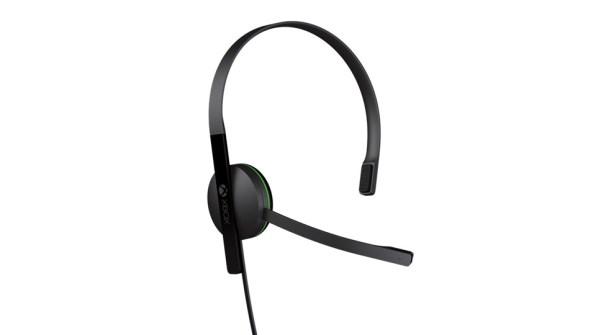 Auriculares negros de Xbox One