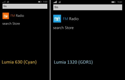 Radio FM en WP8.1 y WP8.1 Update 1